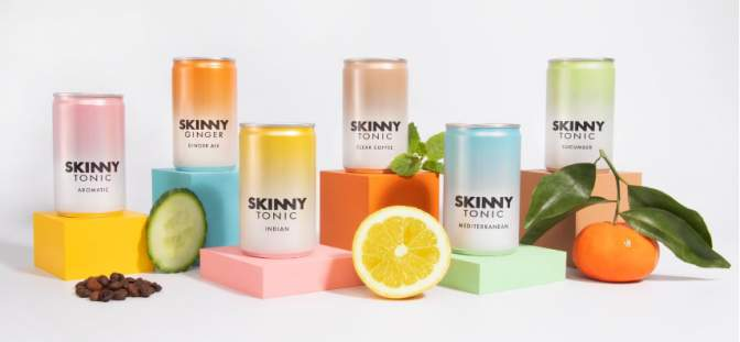 Skinny Tonic mixers top three sellers on Amazon